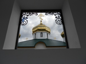 View of the dome from the belltower