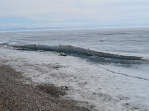 Looks like the waves have been snap frozen, doesn't it?